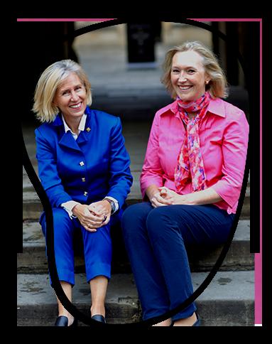 Classlist founders - Susan Burton & Clare Wright